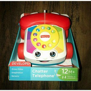 Fisher Price Chatter Telephone Developmental Toy
